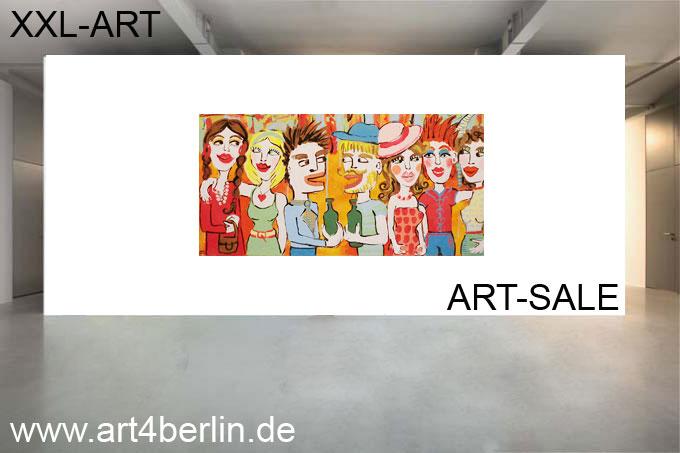 Moderne Malerei, junge Künstler